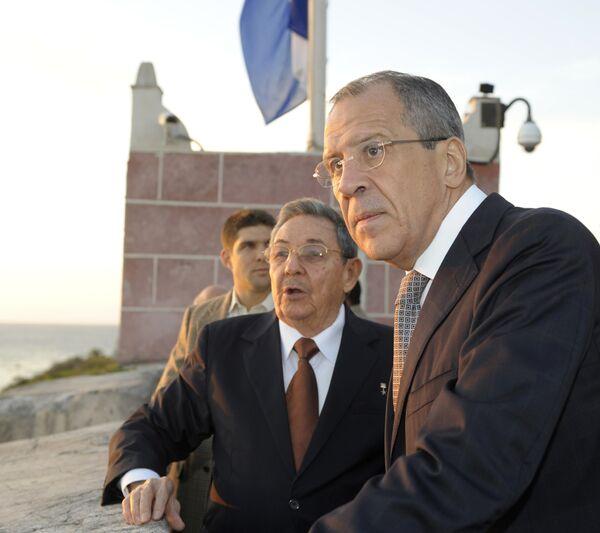 Визит главы МИД РФ Сергея Лаврова в Гавану