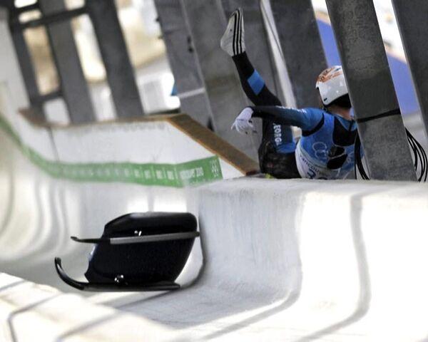 Трагедия на олимпийской трассе: погиб саночник Нодар Кумариташвили