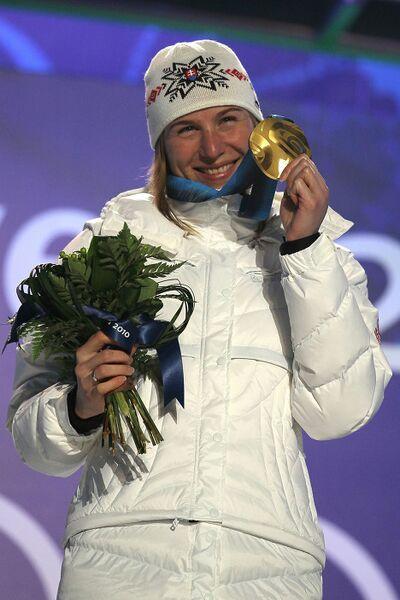 Олимпиада-2010. Церемония награждения по итогам первого дня