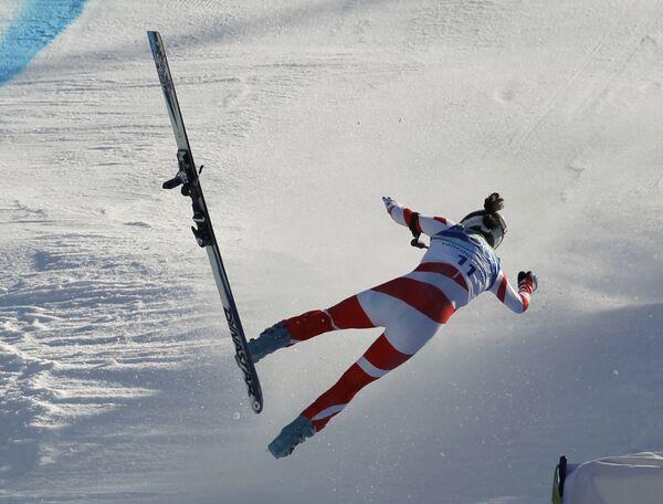 Швейцарская горнолыжница Доминик Жизен