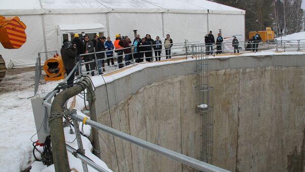 Строительство газопровода Opal в Любмине