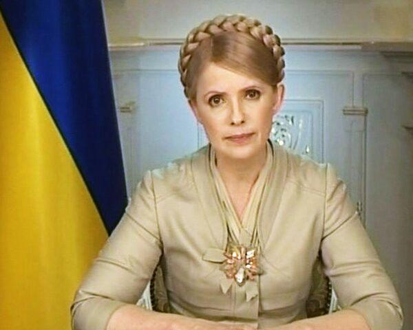 Юлия Тимошенко: Я не признаю Януковича Президентом Украины