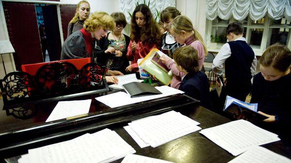 Работа детской музыкальной школы имени Гнесиных