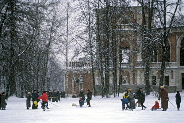 Большой Царицынский дворец (фрагмент). Архив