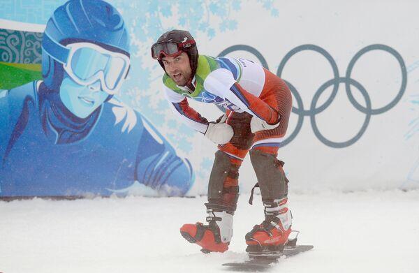 Российский сноубордист Станислав Детков