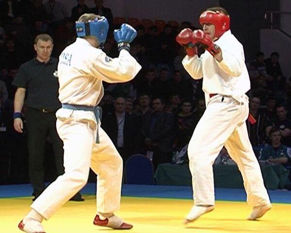 Сборная России стала сильнейшей в турнире по рукопашному бою