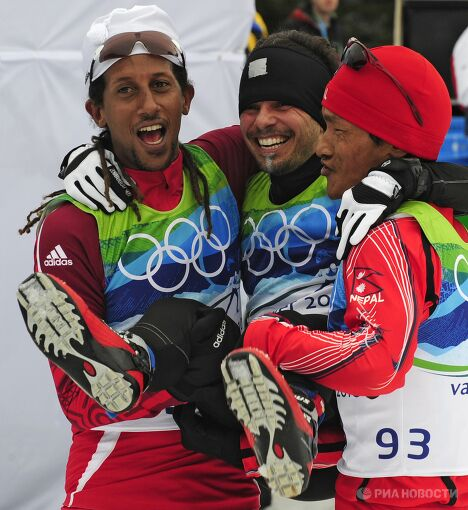 Олимпиада - 2010. Лыжный спорт. Мужчины. 15 км. Свободный стиль. Финал