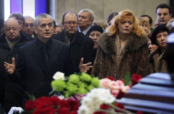 Прощание с главой Государственного научного центра социальной и судебной психиатрии имени Сербского Татьяной Дмитриевой