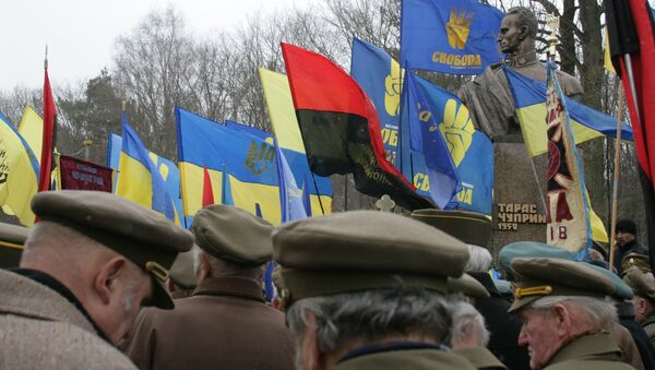 Мероприятия, посвященные 60-летней годовщине со дня гибели командира УПА Романа Шухевича. Архив