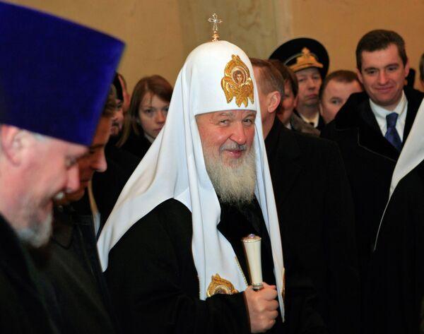 Патриарх Московский и всея Руси Кирилл. Архив