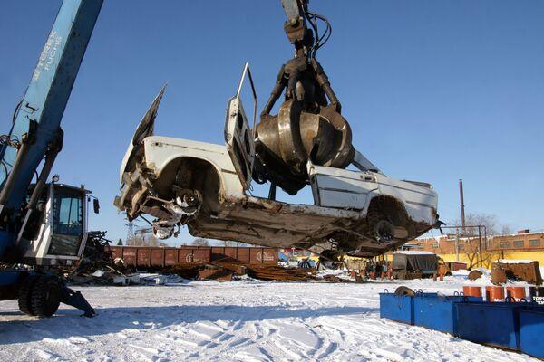 Утилизация старых автомобилей. Архив