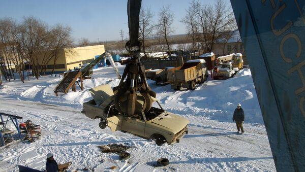 Центр по утилизации автомобилей появится в Новосибирске