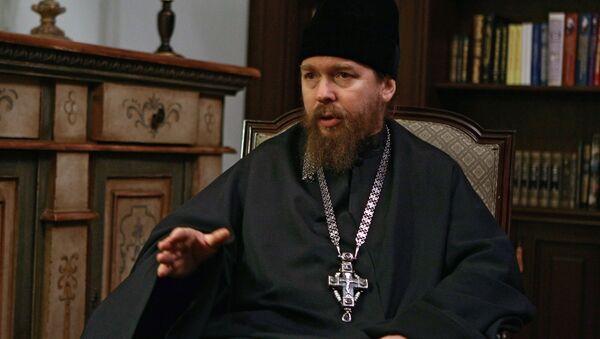 Наместник Сретенского монастыря отец Тихон. Архив
