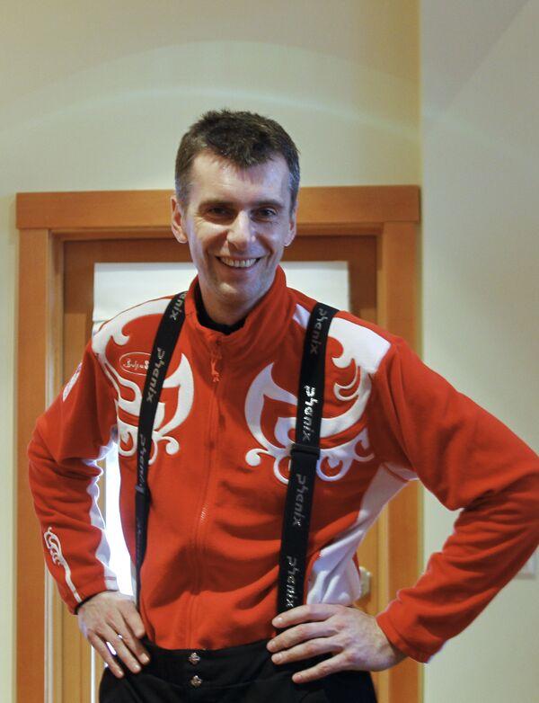 Чествование российских биатлонистов в Уистлере