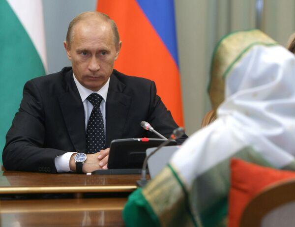 Владимир Путин в Индии