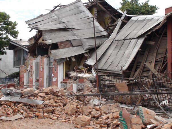 Последствия землетрясения в городе Консепсьон, Чили