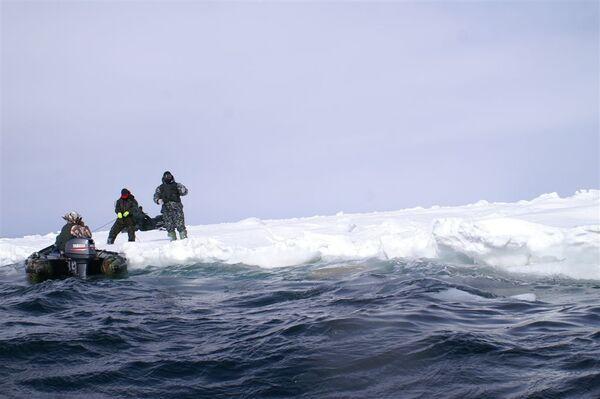 Спасение рыбаков на Сахалине