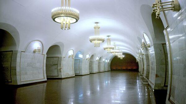 Киевский метрополитен. Архивное фото