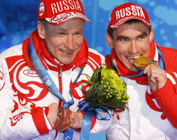 Кирилл Михайлов и Владимир Кононов