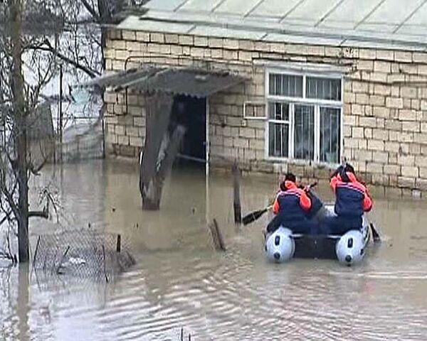 Поселок в Дагестане чуть не смыло при аварийном сбросе из водохранилища