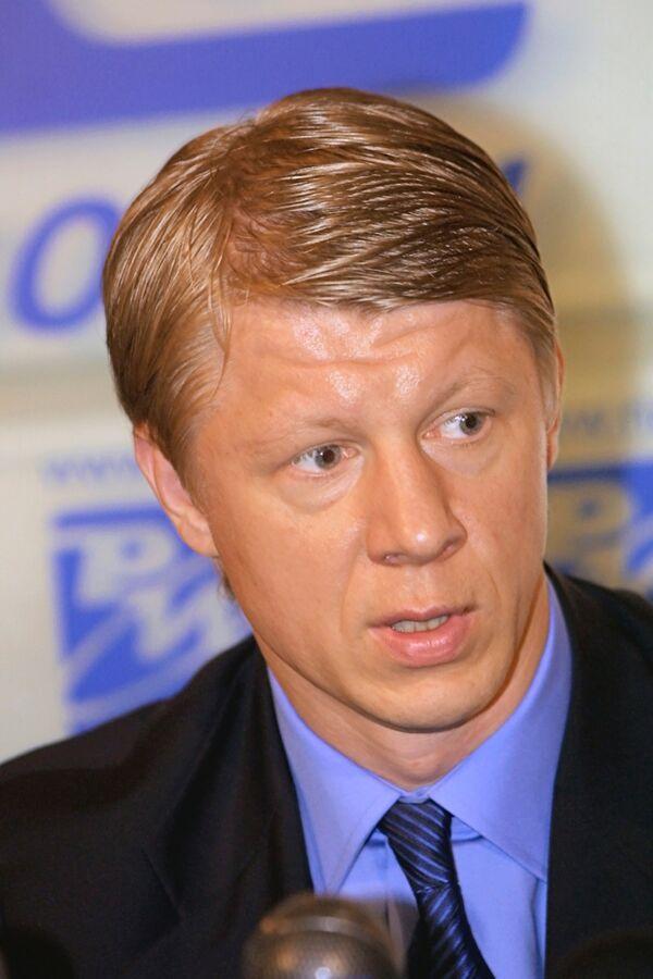 Президент МФК Динамо и Суперлиги мини-футбола К.Еременко