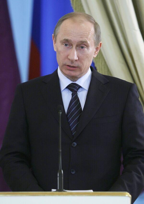 Премьер-министр РФ В.Путин