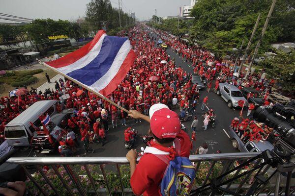 Протесты оппозиции в Таиланде