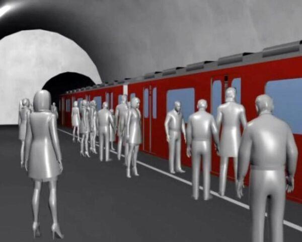 3D-реконструкция взрывов на станциях Лубянка и Парк культуры