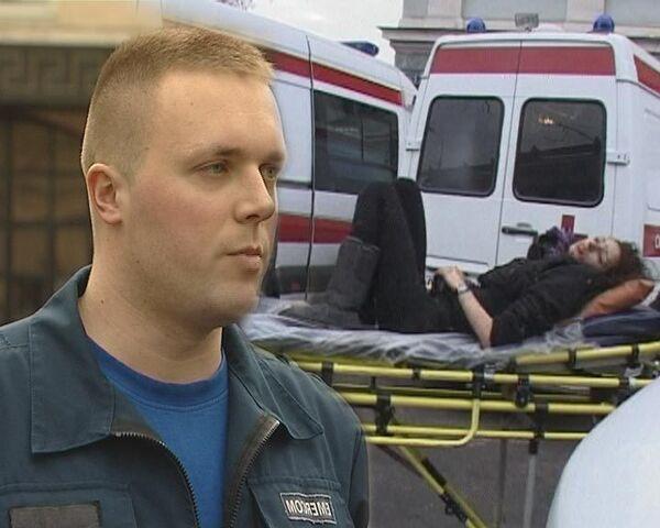 При работе на взрывах эмоции отсутствуют – спасатели МЧС