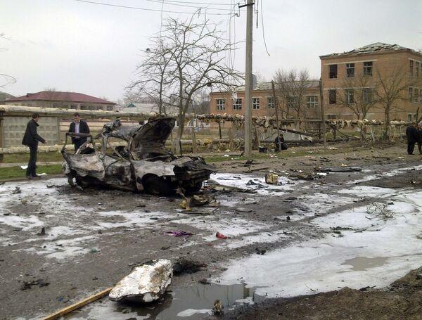 Взрыв в Кизляре