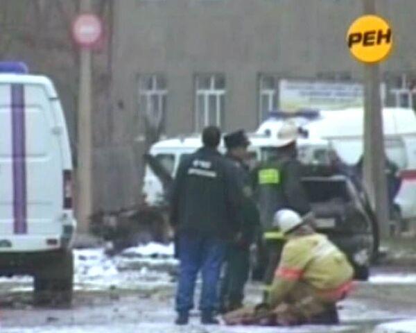 Двойной теракт в Дагестане. Видео с места трагедии