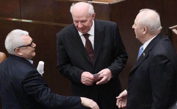 Заседание Совета Федерации РФ.
