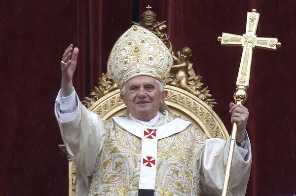 Папа Римский поздравил католиков с Пасхой