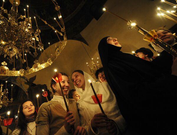 Празднование православной Пасхи в Македонии