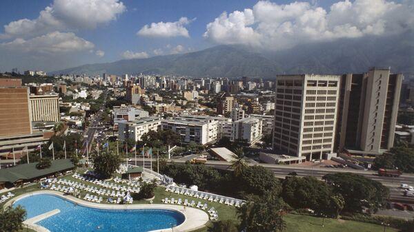 Каракас - столица Венесуэлы. Архив