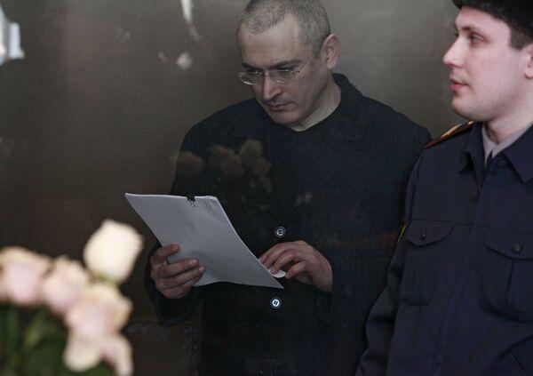 Экс-глава ЮКОСа Михаил Ходорковский дал показания по своему второму уголовному делу