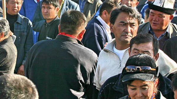 Митинг в Киргизии. Архив