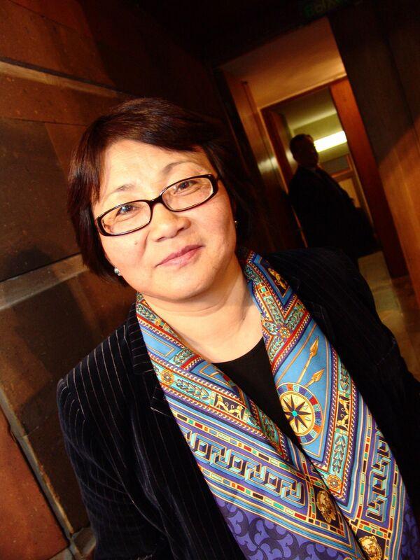 Экс-министр иностранных дел Киргизии Роза Отунбаева. Архив