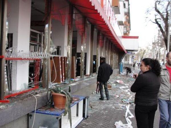 Беспрядки в Бишкеке