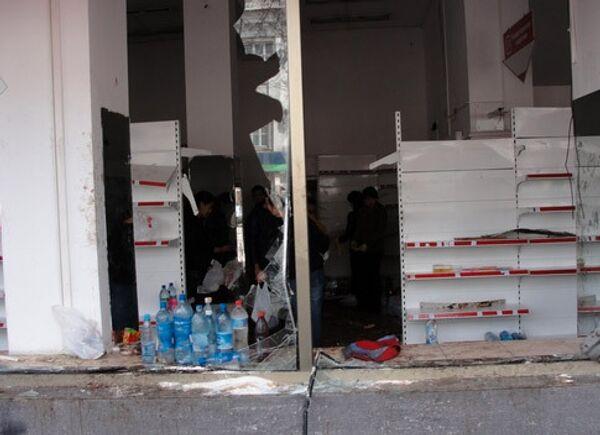 Беспорядки в Бишкеке. Архив