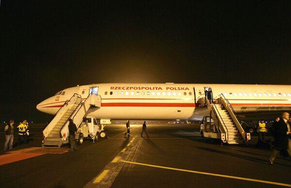 Польский правительственный самолет. Архив