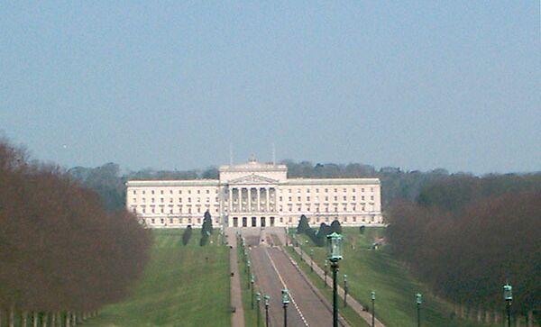Резиденция Североирландской Ассамблеи и правительства Северной Ирландии. Архивное фото