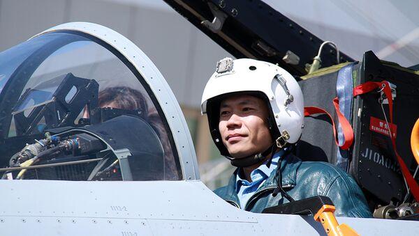 Пилот истребителя КНР. Архивное фото