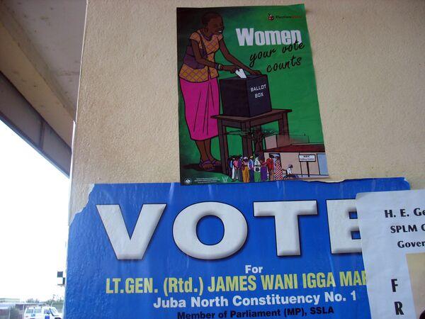Выборы на юге Судана. Архив