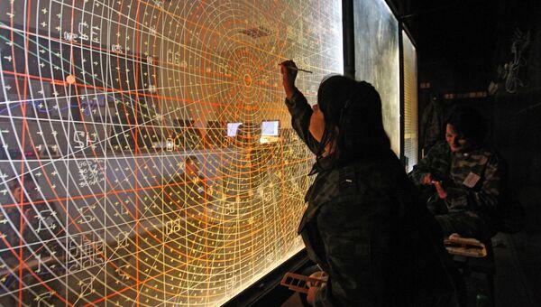 Командный пункт управления учений войск ПВО. Архивное фото