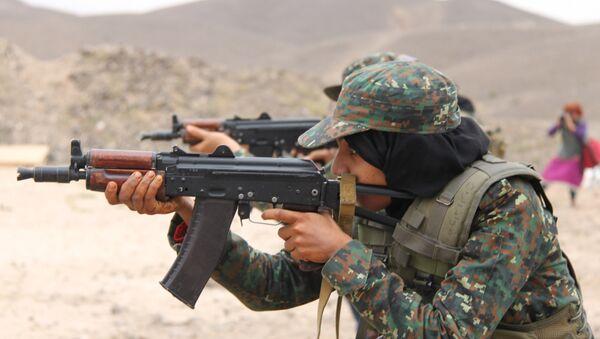 Антитеррористическое подразделение в Йемене. Архивное фото