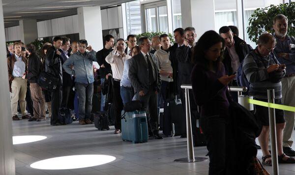 Задержки рейсов в одном из аэропортов Амстердама