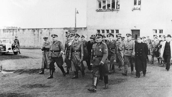 Концентрационный лагерь Заксенхаузен. Архивное фото