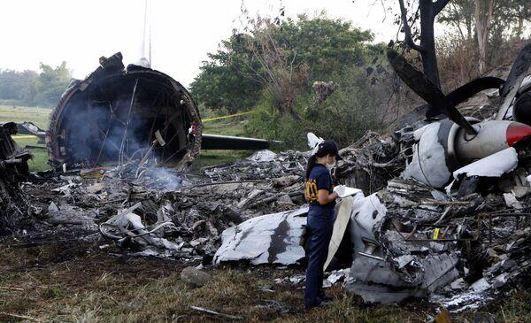 Крушение грузового самолета на Филиппинах