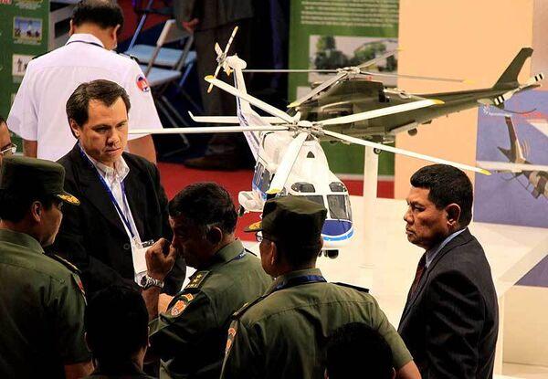 Международная выставка вооружения и военной техники DSA-2010